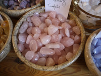 Rose Quartz tumblestone (5280)