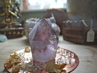 Amethyst Smokey combination quartz (1446464890)