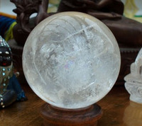 Clear quartz sphere 2.75' (1297341044)