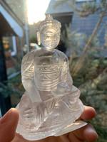 Clear Quartz Medicine Buddha (1222699686)