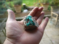 Dioptase cluster (1351093362)