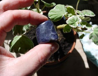 Iolite hand polished (1461149325)