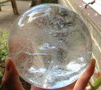 Clear Quartz Crystal Sphere (9227)