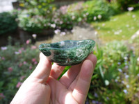 Moss Agate bowl (111814)