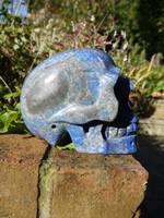 Lapis Lazuli skull (112221)