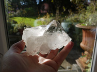 Water clear Quartz Elestial (112228)