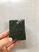 Jade hand polished piece (114063)