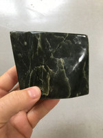 Jade hand polished piece (114065)