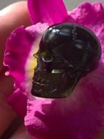 Moldavite skull (114155)