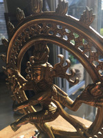 Brass Shiva Natraj statue (114934)