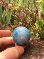 Aquamarine sphere (115186)