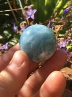 Aquamarine sphere (115231)