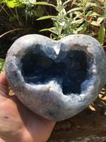 Celestite heart (115466)