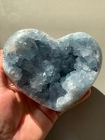 Celestite heart (115514)