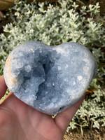 Celestite heart (115572)