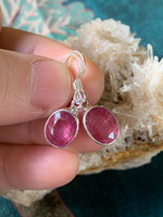 Ruby earings (115855)