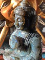 Labradorite Buddha (115887)