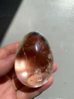 Clear quartz egg (116080)