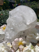 Clear quartz skull 'Lyra' SOLD (116254)