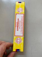Citronella incense (116458)