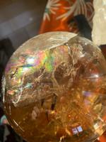 Citrine sphere AAA grade (116643)