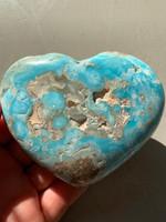 Hemmimorphite heart (116646)