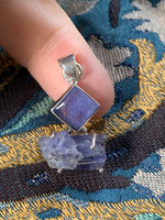 Tanzanite set in silver (116748)