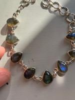 Labradorite bracelet (116795)