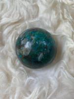 Chrysocolla sphere (116803)
