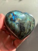 Labradorite Heart (116821)