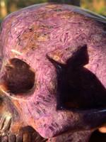 Charoite skull SOLD (116994)