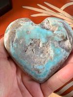 Hemmimorphite heart (117078)