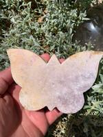 Pink Amethyst Butterfly (117563)