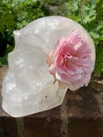 Clear quartz skull 'Midsummer' (117680)