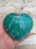 Amazonite heart (117697)