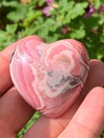Rhodochrosite AA grade Heart (117930)