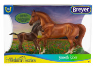 Breyer Horses Paso Fino & Foal Smooth Rider 1:12 Classic Scale 62209