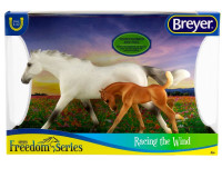 Breyer Horses  Thoroughbred & Foal Racing The Wind 1:12 Classic Scale 62208