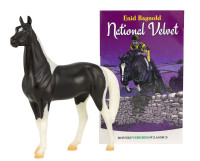 Breyer Horses National Velvet Horse and Book Set 1:12 Classic Scale 6180