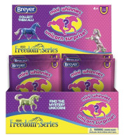 Breyer Horses BOX OF 48  Mini Whinnies Unicorn Surprise Series 3  300196  1:64 Scale