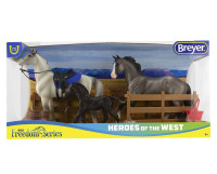 Breyer Horses Freedom Series Heroes of The West 3 Horse Set 1:12 Classic Scale 61098