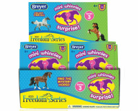 BREYER HORSES BOX OF 48  Mini Whinnies Series 3  Surprise Bags