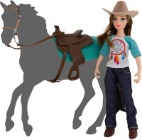 Breyer Horses Natalie 15cm Cowgirl Doll  Freedom Series Classic 1:12 Scale 62025