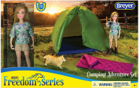 Breyer Horses Camping Adventure Set Classic Freedom Series  1:12 Scale 62049