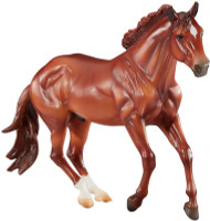 Breyer Horse Checkers Sir Rugged Chex Mountain Trail Champion 1:9 Traditional Scale 1831