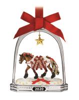 Breyer Horses Yuletide Greetings 2020 Christmas Stirrup Hanging Ornament 700321