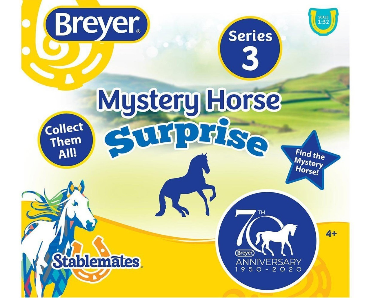Breyer Horses Stablemates 70th Anniversary Single Blind Bag 1 32 Scale W6051 Model Horses