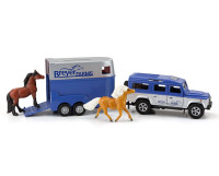 Breyer Horses Farms,  Land Rover & Tag-A-Long Trailer 1:32 Stablemates 59216