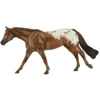 Breyer Horses Chocolatey - Champion Appaloosa 1:9 Traditional Scale 1842