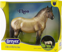 Breyer Horses Theo - Ardennes Draft Horse 1:9 Traditional Scale 1843